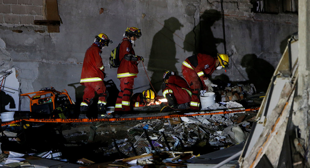 Operaciones de rescate en México