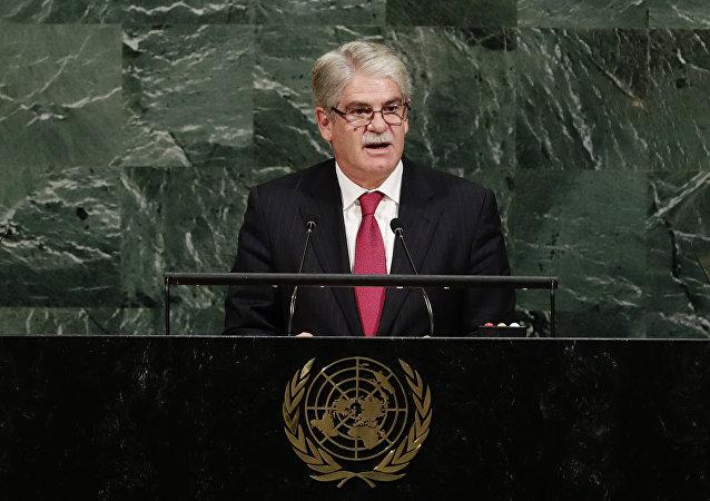 Alfonso Dastis, ministro de Asuntos Exteriores de España