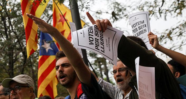 Situación en Cataluña