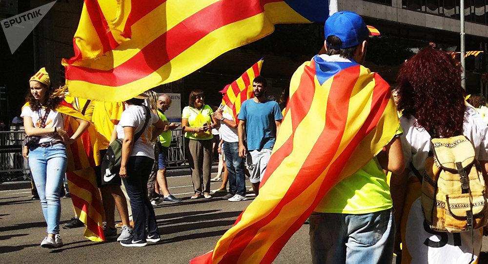 Protestas en Barcelona, Cataluña