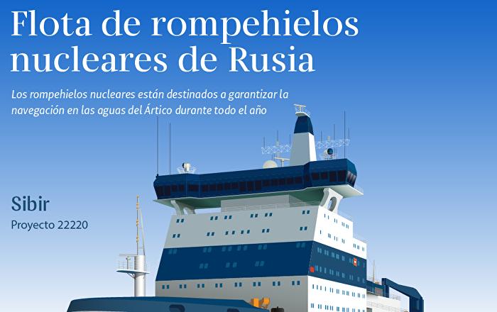 Flota de rompehielos nucleares de Rusia