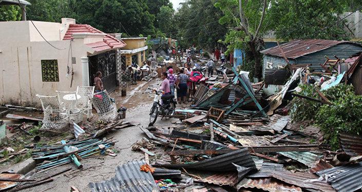Las consecuencias del huracán María en República Dominicana