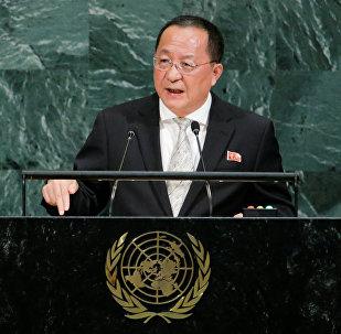 Ri Yong-ho, canciller norcoreano