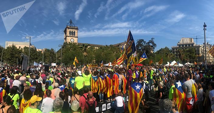Una manifestación en Barcelona (archivo)