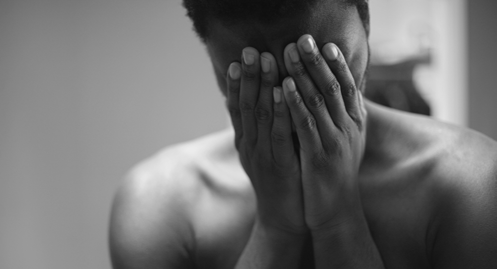 Un hombre triste (imagen referencial)