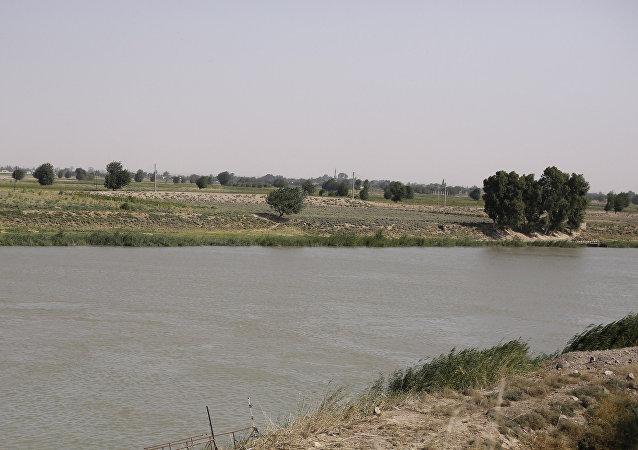 El río Eufrates