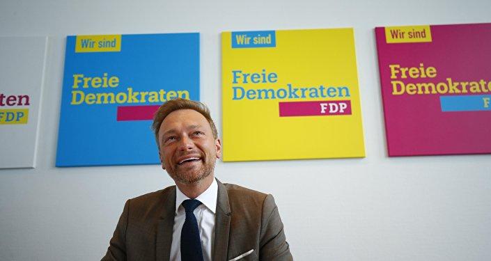 Christian Lindner, el líder del Padrido Democrático Libre (FDP) de Alemania