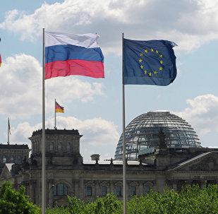 Banderas de Alemania y Rusia