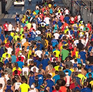 El latido de Moscú: más de 30.000 personas de 71 países participan en el maratón de la ciudad