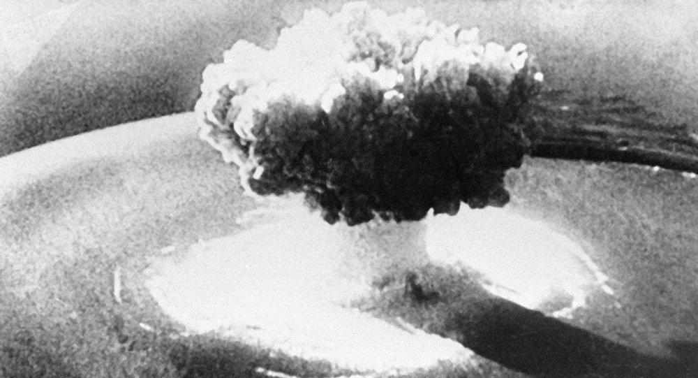 Explosión de una bomba nuclear (archivo)