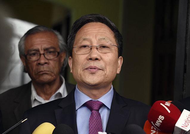Kim Hyok Chol, embajador de Corea del Norte en España