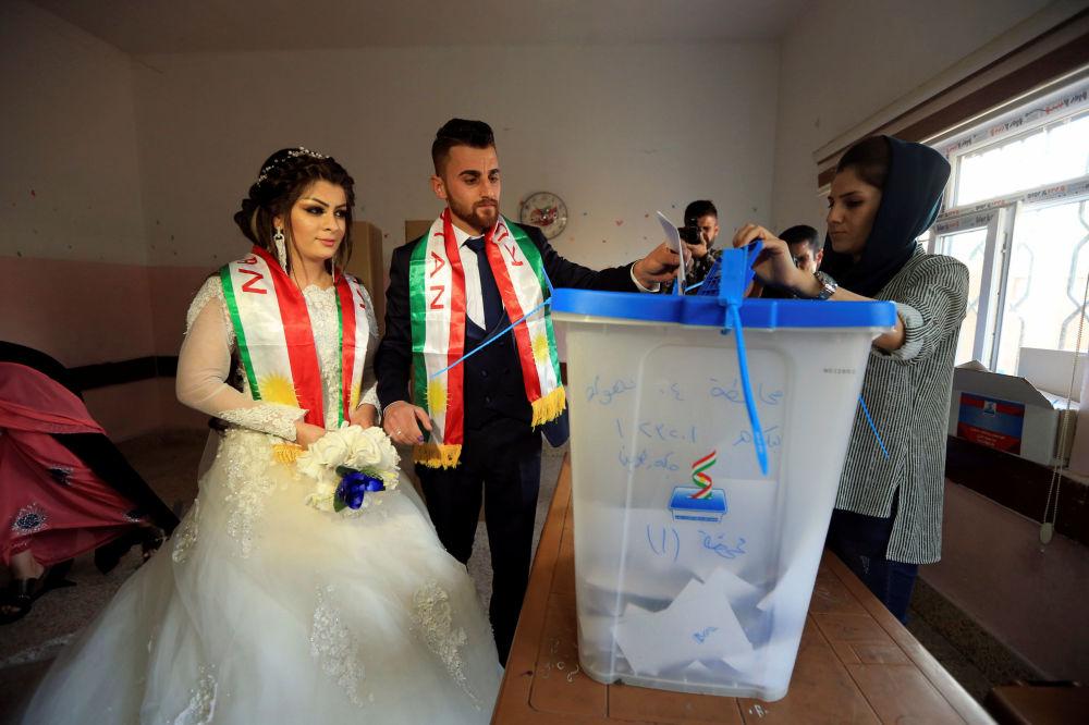 La cara femenina del referéndum independentista kurdo