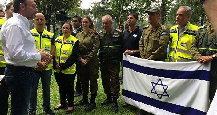 Los rescatistas de Israel
