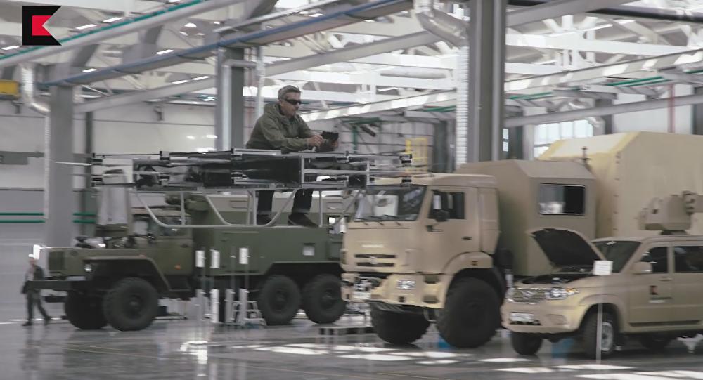 La moto voladora del consorcio Kalashnikov