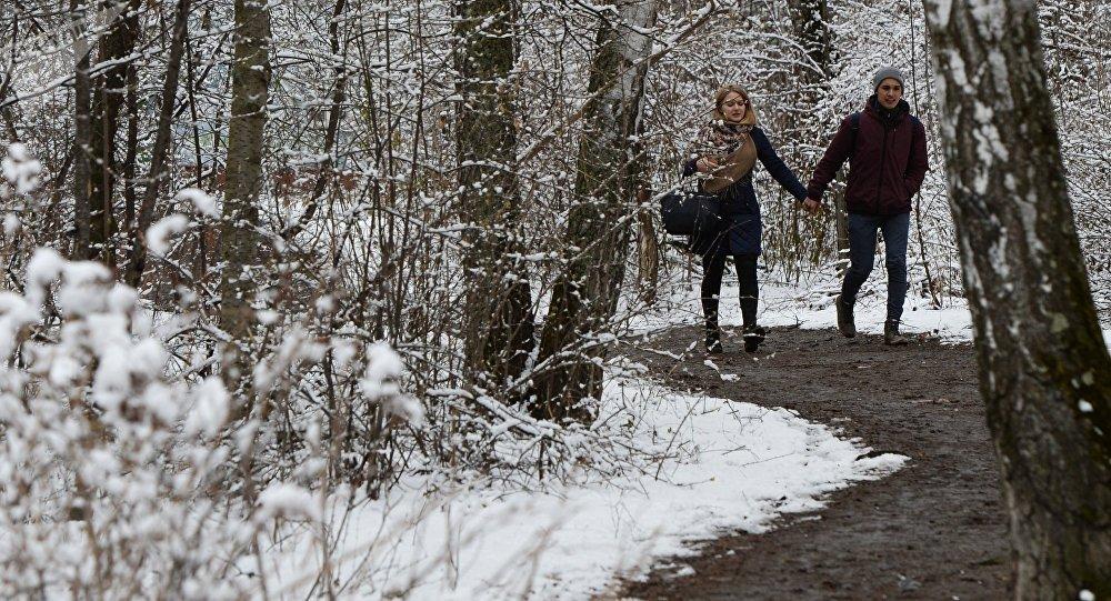 Una nevada en Siberia (archivo)