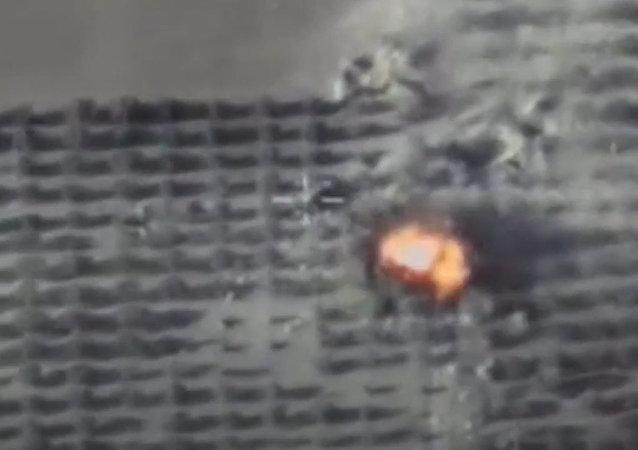 Las Fuerzas Aeroespaciales de Rusia efectuaron 10 ataques aéreos contra las posiciones de Daesh