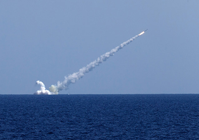 Lanzamiento de misiles rusos Kalibr