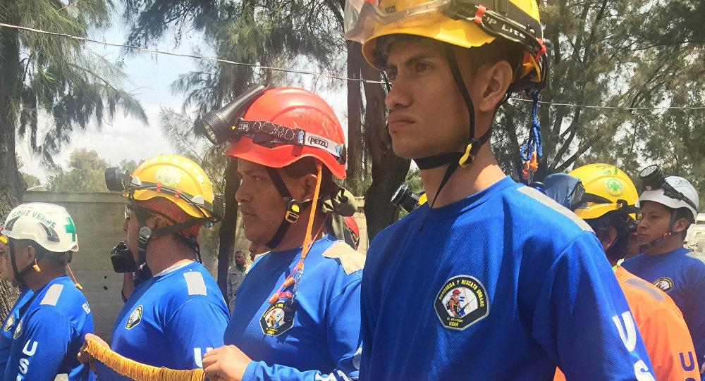 ¡Gracias El Salvador! Despiden con honores a rescatistas salvadoreños