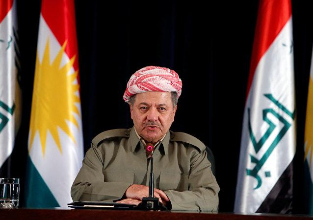 Masud Barzani, presidente del Kurdistán iraquí