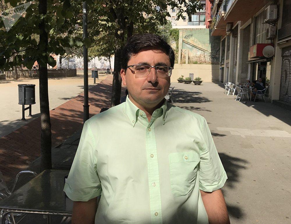 Jordi Pacheco i Canals, presidente del Colegio de Politólogos y Sociólogos de Cataluña