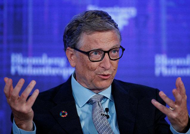 El fundador de Microsoft Bill Gates