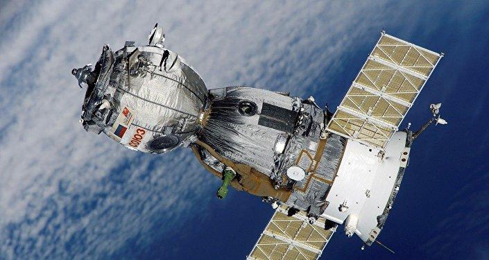 La nave espacial Soyuz (imagen referencial)