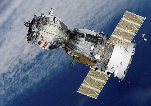 La nave espacial Soyuz (archivo)