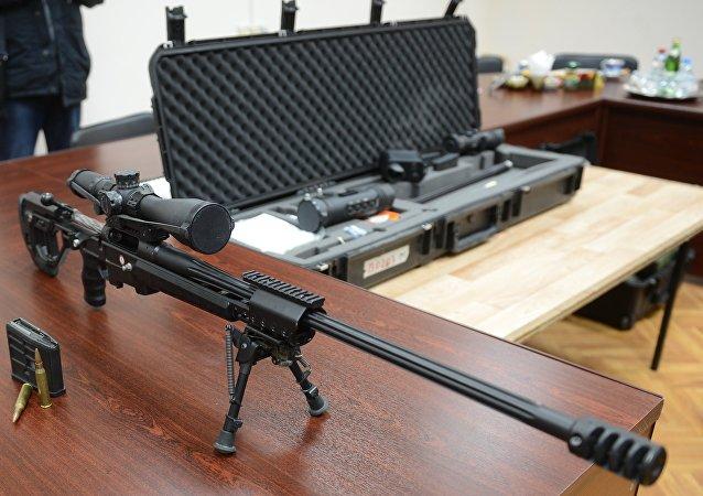 El innovador fusil de francotirador Tochnost