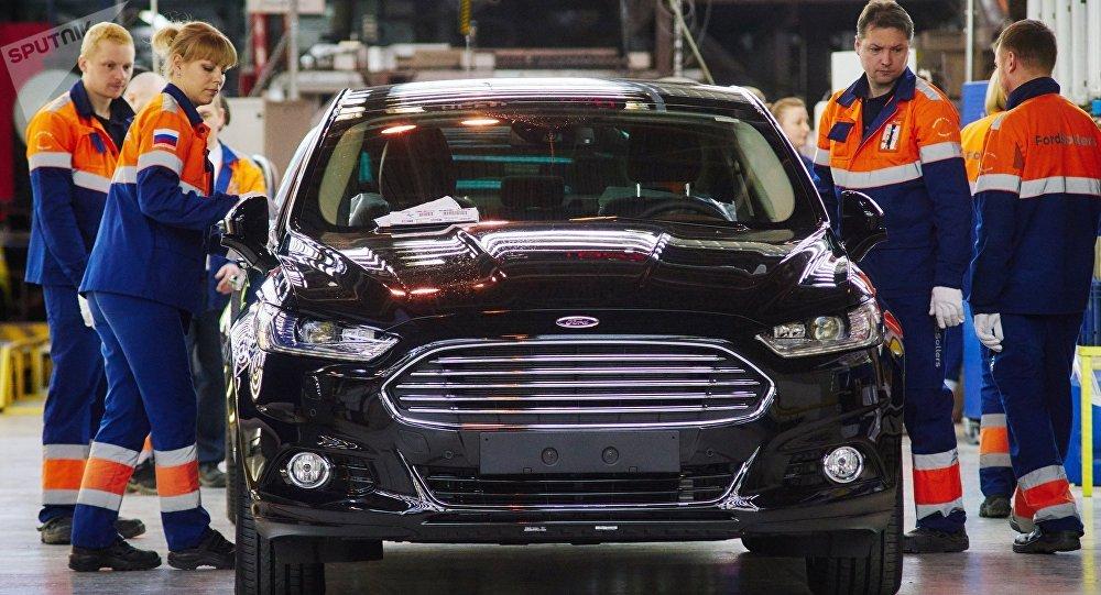 La fábrica Ford Sollers en la región de Leningrado