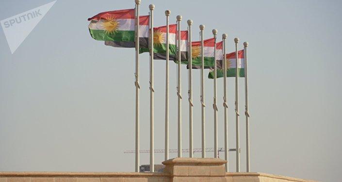 Banderas de Kurdistán iraquí