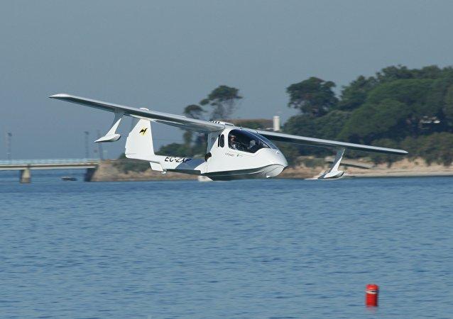 Un hidroavión de Colyaer, el 'antecesor' del dron anfibio chino U650 (imagen referencial)