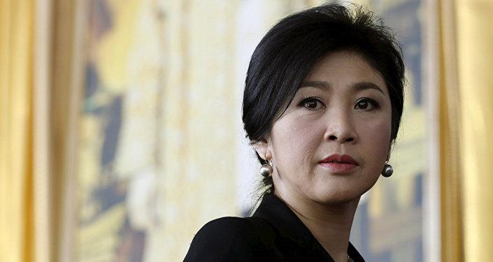 Yingluck Shinawatra, ex primera ministra de Tailandia