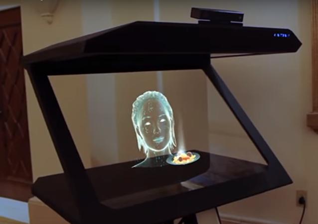 El holograma inteligente desarrollada por VNTANA y Satisfi