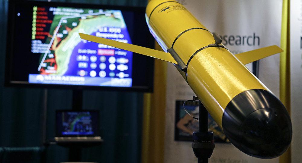 Un planeador subacuático (imagen referencial)