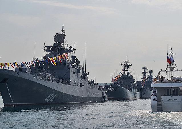 La fragata Almirante Grigorovich