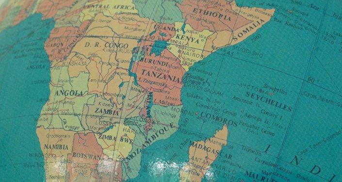 Mapa de África (imagen referencial)