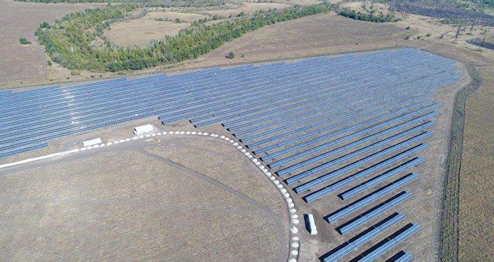 La primera central solar inaugurada en la región rusa de Sarátov