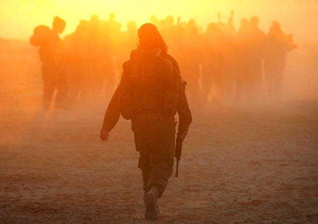 Una soldado israelí (archivo)