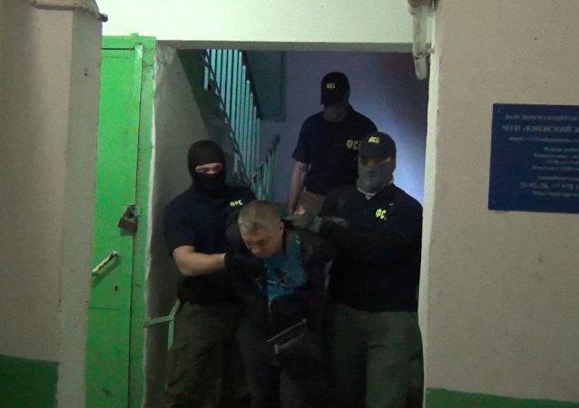 Publican imágenes de los espías ucranianos detenidos en Rusia