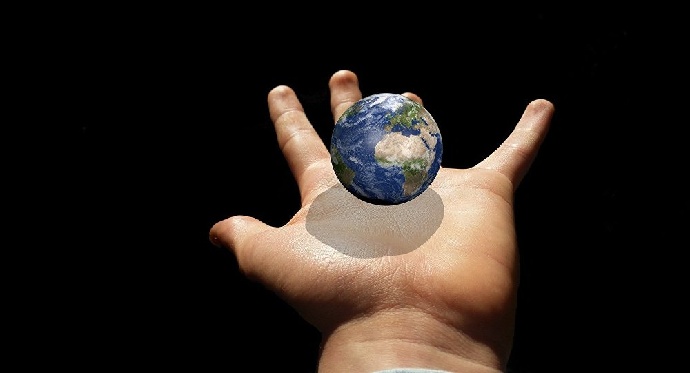 La Tierra (ilustración artística)