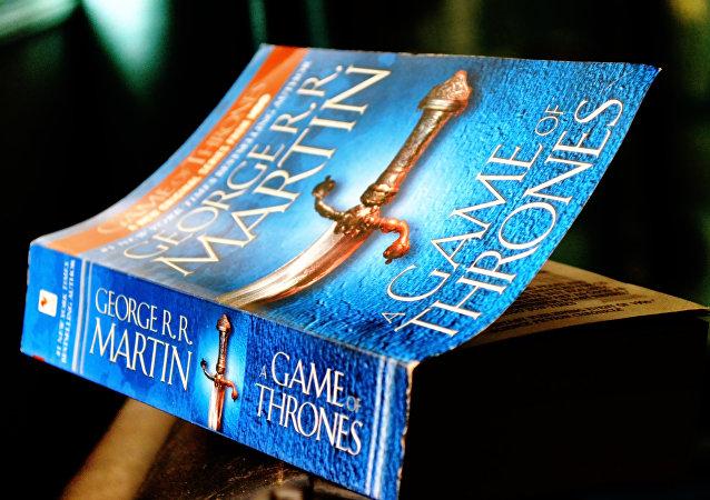 El libro de la serie Juego de Tronos (imagen referencial)