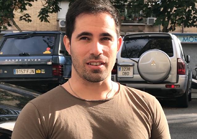 Rodrigo, un venezolano de 34 años que vive en Cataluña