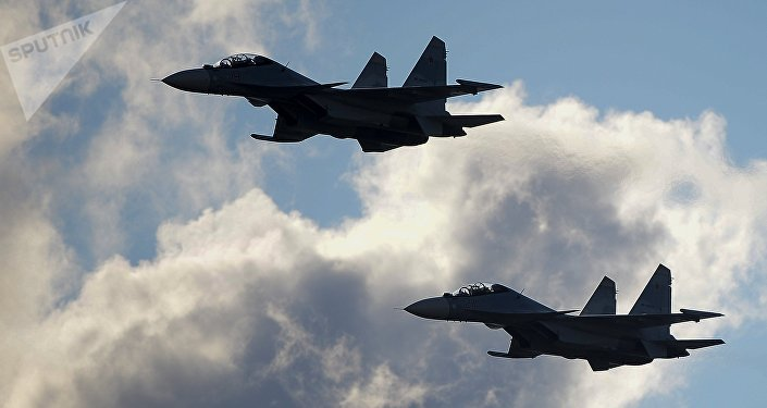Aviones rusos Su-30