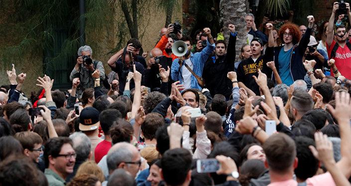Situación en Barcelona