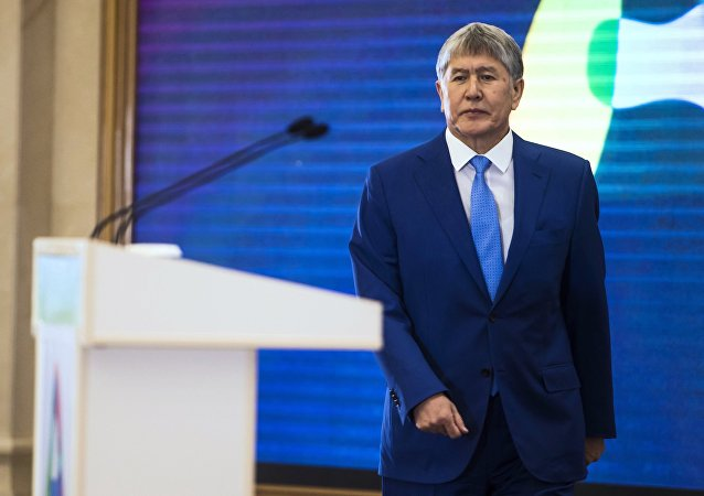 Almazbek Atambáev, presidente de Kirguistán