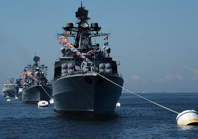 El buque Almirante Vinogradov