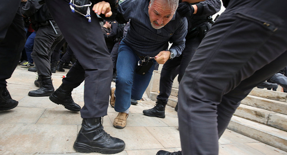 ONU pide investigación sobre violencia en Cataluña por Referéndum
