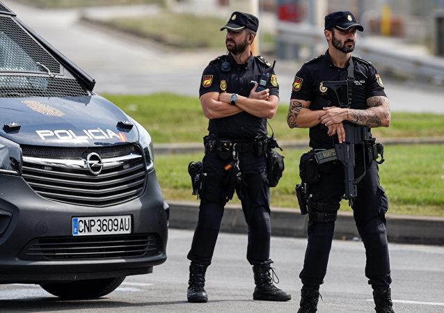 Policía nacional española