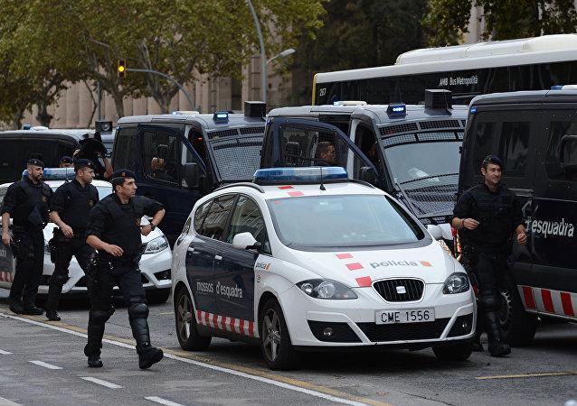 Policía Nacional española (archivo)