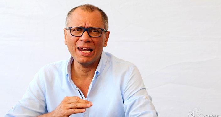Jorge Glas, el vicepresidente de Ecuador (archivo)